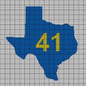 Texas 41 Crochet Pattern