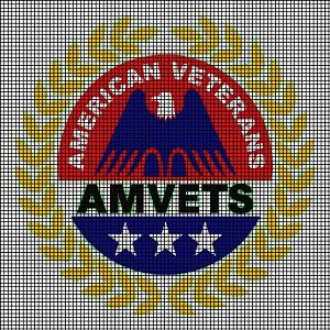 Crochet Patterns For Veterans : American Veterans Logo Crochet Pattern