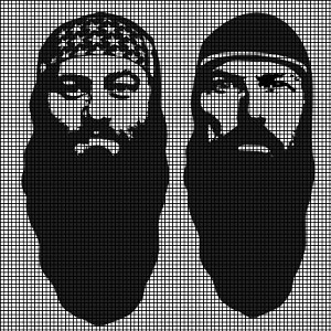 Duck Dynasty - Hey Jack! Crochet Pattern