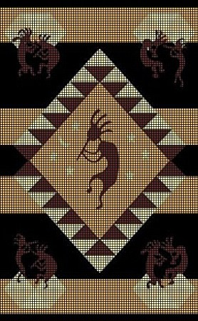 Kokopelli Crochet Pattern