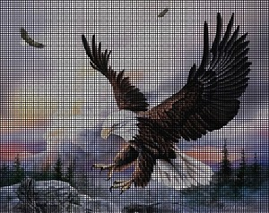 Eagle In Flight Crochet Pattern