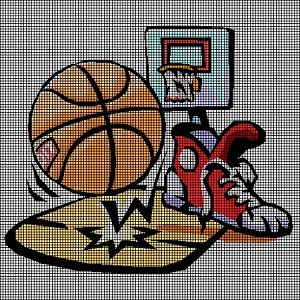 All About Basketball Crochet Pattern