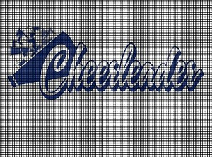 Cheerleader Crochet Pattern