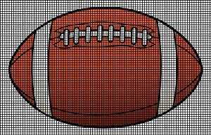 American Football Crochet Pattern