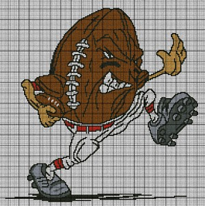 Quarterback Football Crochet Pattern