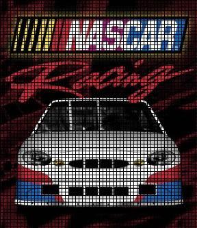 Nascar Race Car Crochet Pattern
