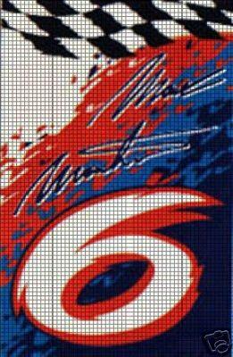 Nascar Martin Crochet Pattern