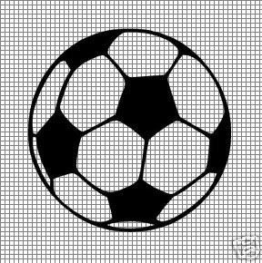 Soccer Ball Knitting Pattern : Soccer Ball Crochet Pattern