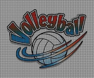 Volley Volley Volleyball Crochet Pattern