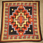 Aztec Hand Made Afghan