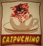 Catpuchino Hand Made Afghan
