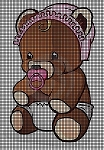 Baby Pacifier Bear Crochet Pattern