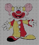 Big Eared Clown Crochet Pattern