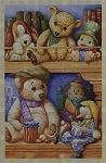 Bookshelf Bears Crochet Pattern