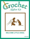 Welcome Little Angel Crochet Afghan Kit