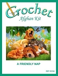 A Friendly Nap Crochet Afghan Kit