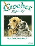 Our Family Portrait Crochet Afghan Kit