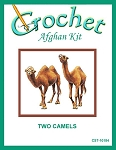 Two Camels Crochet Afghan Kit