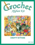 Crafty Kittens Crochet Afghan Kit