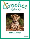 Bengal Kitten Crochet Afghan Kit