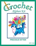 Precious Kitten Crochet Afghan Kit