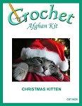 Christmas Kitten Crochet Afghan Kit
