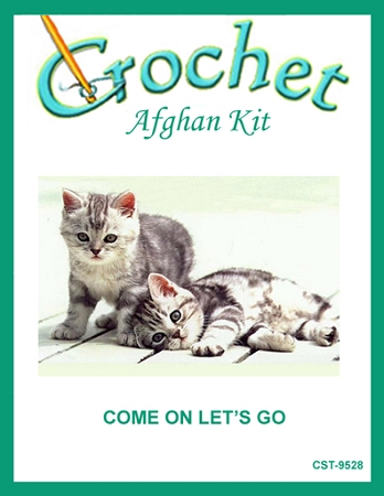 Come On Let's Go Crochet Afghan Kit