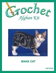 Manx Cat Crochet Afghan Kit