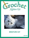 Miniature Cat Crochet Afghan Kit