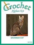 Savannah Cat Crochet Afghan Kit