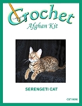 Serengeti Cat Crochet Afghan Kit