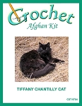 Tiffany Chantilly Cat Crochet Afghan Kit