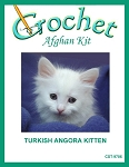 Turkish Angora Kitten Crochet Afghan Kit