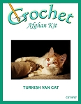 Turkish Van Cat Crochet Afghan Kit