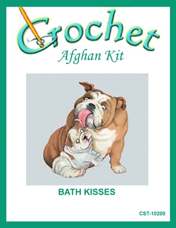 Bath Kisses Crochet Afghan Kit