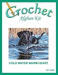 Cold Water Warm Heart Crochet Afghan Kit