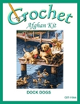 Dock Dogs Crochet Afghan Kit