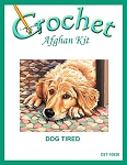 Dog Tired Crochet Afghan Kit