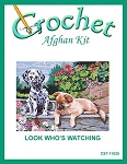 Look Who's Watching Crochet Afghan Kit