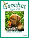 Smell The Flowers Crochet Afghan Kit
