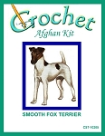 Smooth Fox Terrier Crochet Afghan Kit