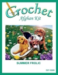 Summer Frolic Crochet Afghan Kit