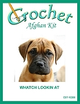 Watcha Lookin At Crochet Afghan Kit