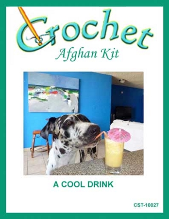 A Cool Drink Crochet Afghan Kit