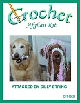 Attacked By Silly String Crochet Afghan Kit