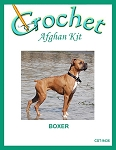 Boxer Crochet Afghan Kit