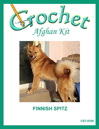 Finnish Spitz Crochet Afghan Kit