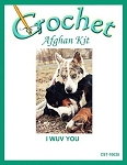I Wuv You Crochet Afghan Kit
