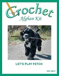 Let's Play Fetch Crochet Afghan Kit