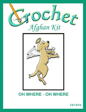 Oh Where - Oh Where Crochet Afghan Kit
